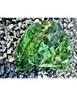 BRYŁA SZKLANA - zielona...
